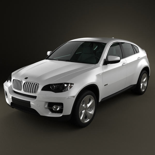 BMW X6 2011 3d car model