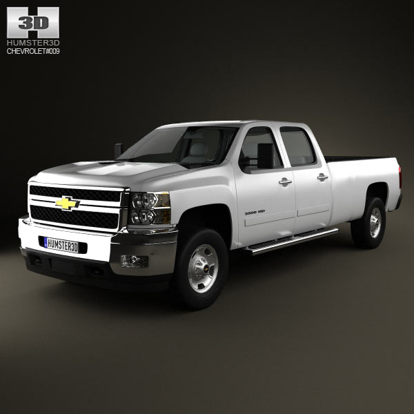 Chevrolet Silverado 3500HD 2011 3d car model