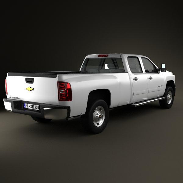 Chevrolet Silverado 3500HD 2011 3d model