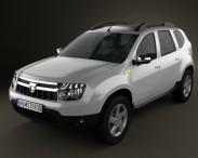 3D model of Dacia Duster
