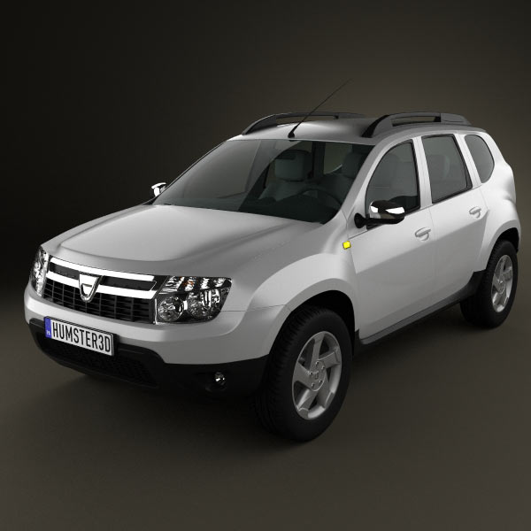 Dacia Duster 3d car model