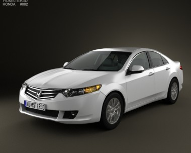 3D model of Honda Accord sedan