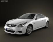 3D model of Infiniti Q60 (G37) Coupe
