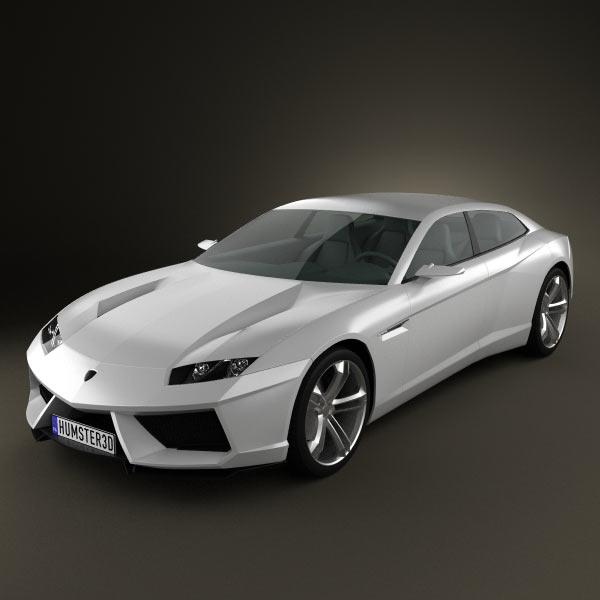 3D model of Lamborghini Estoque