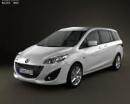 3D model of Mazda 5 (Premacy) 2011