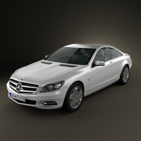 Mercedes-Benz CL-Class W216 2011 3d car model