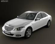 3D model of Mercedes-Benz S-Class