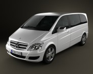 3D model of Mercedes-Benz Viano Compact