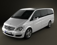 3D model of Mercedes-Benz Viano Extralong