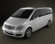 3D model of Mercedes-Benz Viano Long