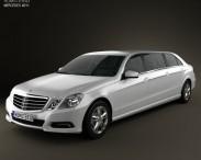 3D model of Mercedes Binz E-class Limousine