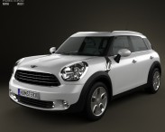 3D model of Mini Countryman 2011