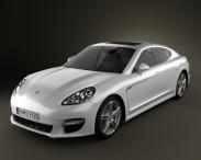 3D model of Porsche Panamera 2010