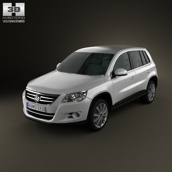 Volkswagen Tiguan 3d car model