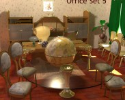 3D model of Office Set 05
