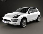 3D model of Porsche Cayenne Hybrid 2011