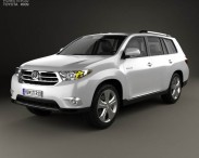 3D model of Toyota Highlander 2011