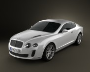 3D model of Bentley Continental Supersports coupe 2010