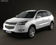 3D model of Chevrolet Traverse 2011