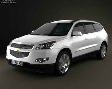 3D model of Chevrolet Traverse 2011