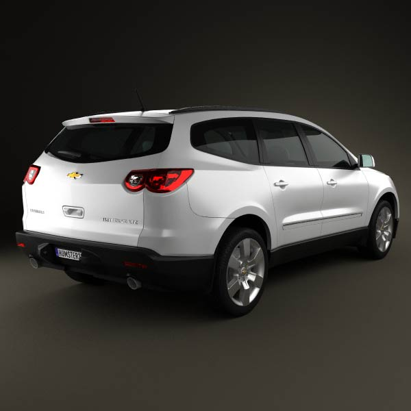 chevrolet traverse 2011 3d model humster3d. Cars Review. Best American Auto & Cars Review