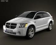 3D model of Dodge Caliber 2010