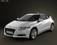 3D model of Honda CR-Z (ZF1)