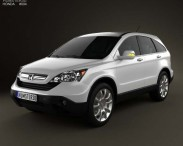 3D model of Honda CR-V 2010