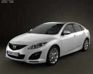 3D model of Mazda 6 Sedan 2011