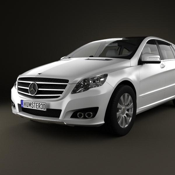 Mercedes benz r class 2011 3d model humster3d for Mercedes benz different models