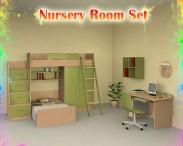 3D model of Nursery Room 04 Set