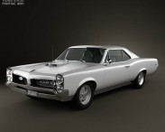 3D model of Pontiac GTO 1967