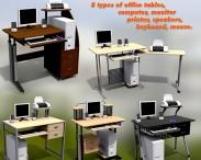 3D model of Office Set 14