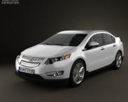 3D model of Chevrolet Volt 2011