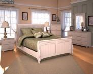 3D model of Ashley Cottage Retreat Sleigh Bedroom Set