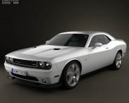 3D model of Dodge Challenger SRT8 2011