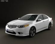 3D model of Honda Accord Sedan Type S 2011