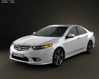 3D model of Honda Accord Sedan Type S 2011