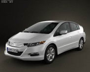 3D model of Honda Insight Hybrid 2010