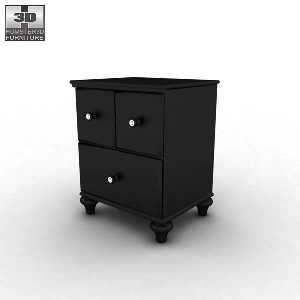 ashley jaidyn poster bedroom set 3d model humster3d