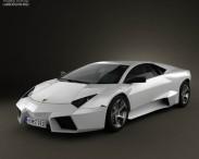 3D model of Lamborghini Reventon