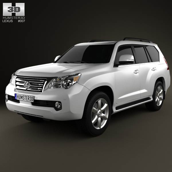 Lexus GX 460 2010 3d car model