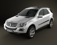 3D model of Mercedes-Benz ML class
