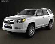 3D model of Toyota 4Runner 2011