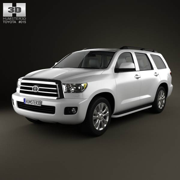 Toyota Sequoia 2011 3d car model