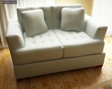 3D model of Ashley Zia – Spa Loveseat