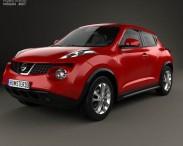 3D model of Nissan Juke 2011