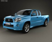 3D model of Toyota Tacoma XRunner 2011