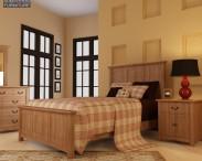 3D model of Bedroom Furniture 23 Set