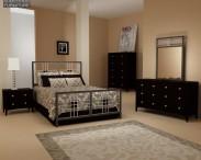 3D model of Bedroom Furniture 17 Set